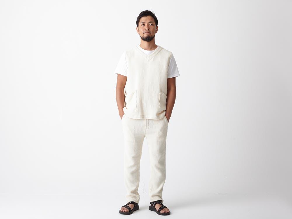 Dobby Denim Vest XL Indigo1