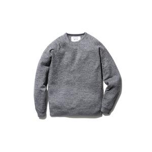 Raglan Crew Neck Knit Sweater