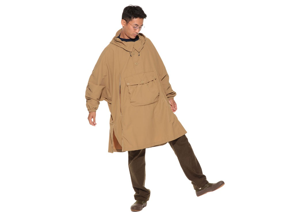 Camping Over Poncho M Beige1
