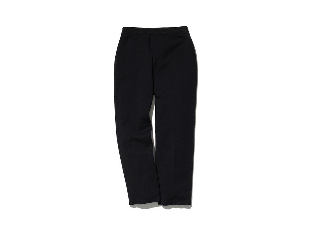 Wool Linen/Pe Pants Regular M Black