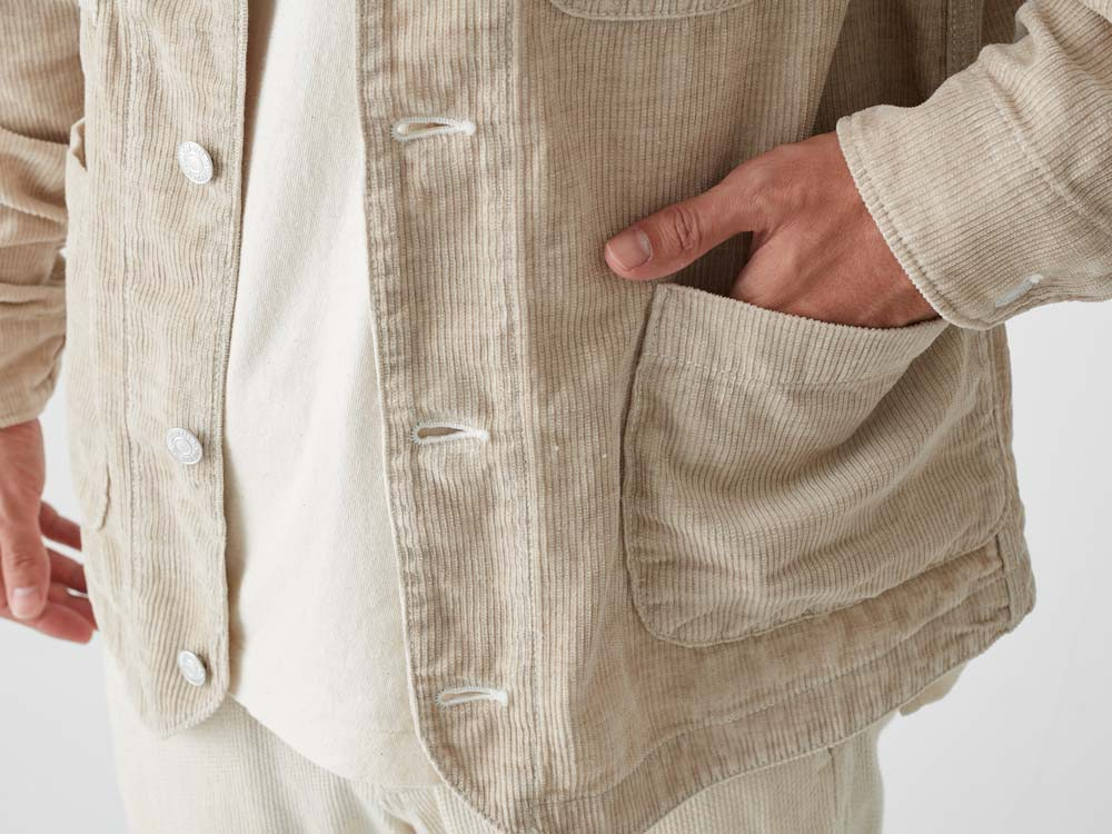 Linen Corduroy Jacket XXL Natural6