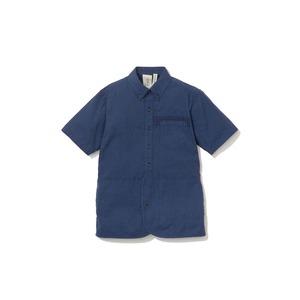 現代のワークシャツS/S  XL/L Navy
