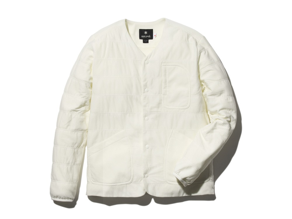 FlexibleInsulatedCardigan 1 White0