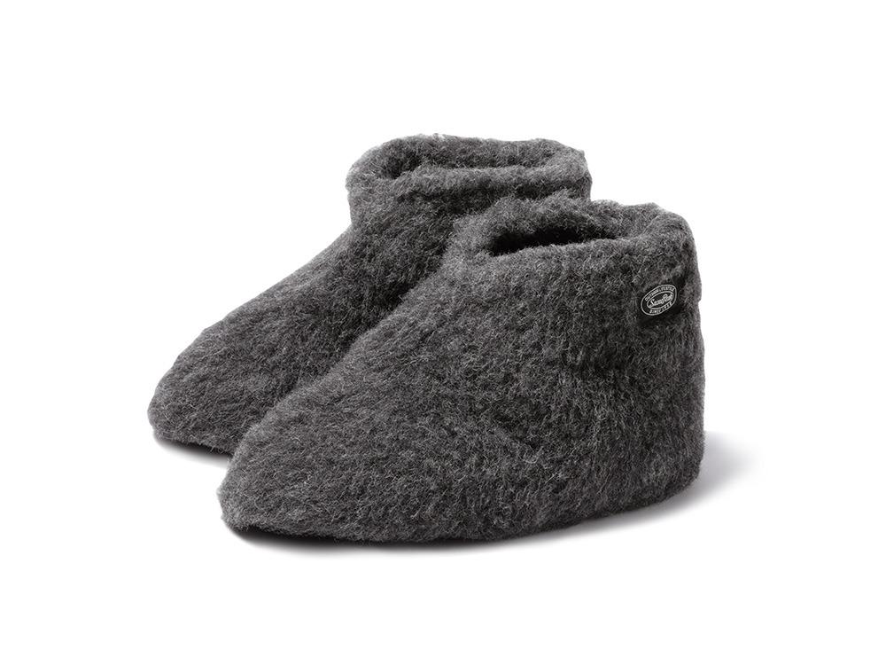 Wool Fleece Tent Shoes size S BK