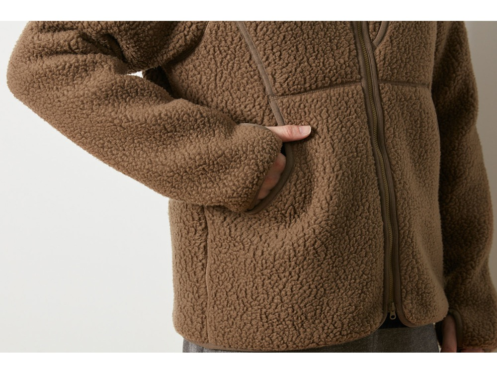 Classic Fleece Jacket 1 Khaki