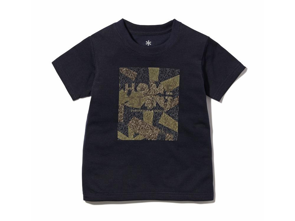 Kid's Rain CAMO Tshirt1Navy