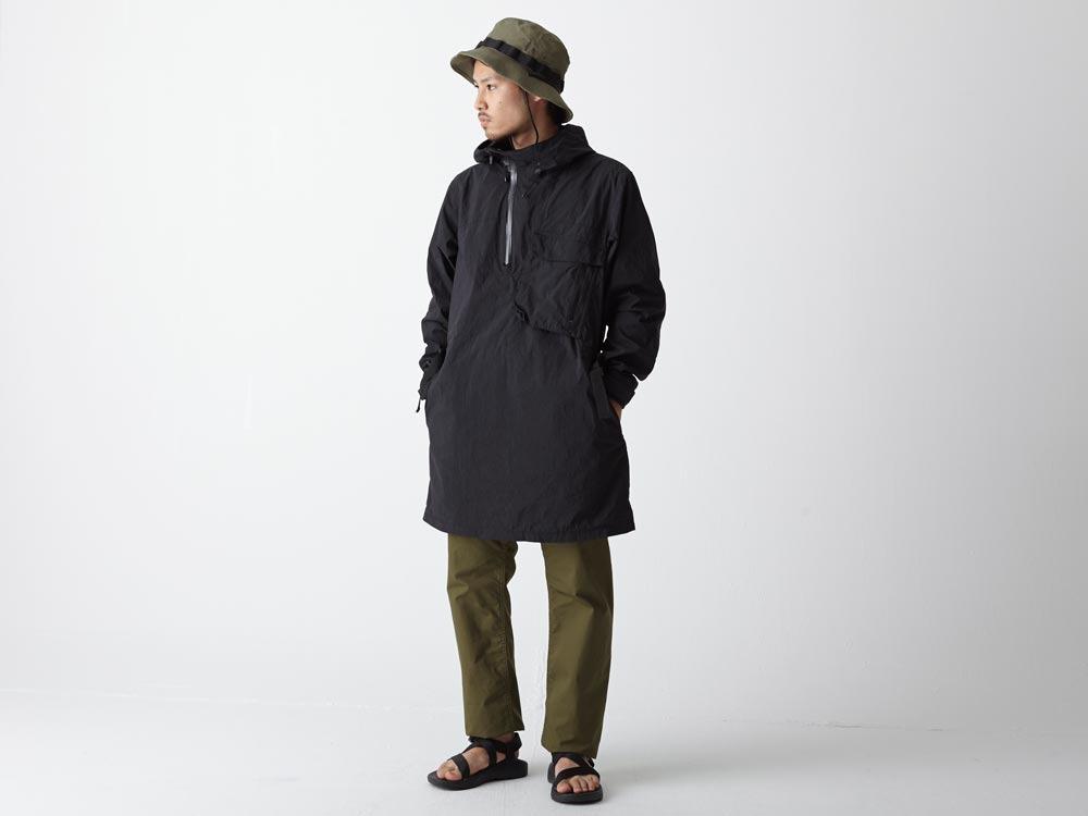 Indigo C/N Anorak Pullover 1 Black1