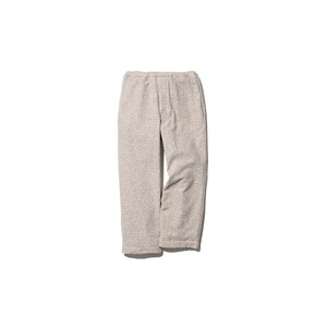 Yak Pile Pants L Natural
