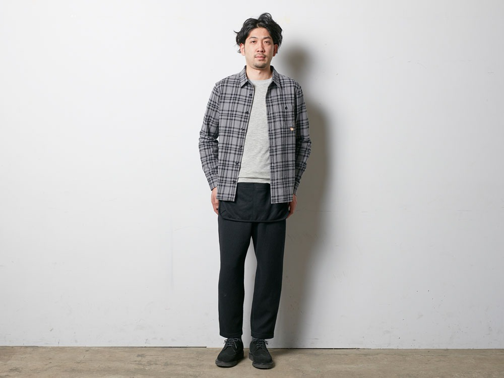 Wool Tight Knit Pants 2 Olive1