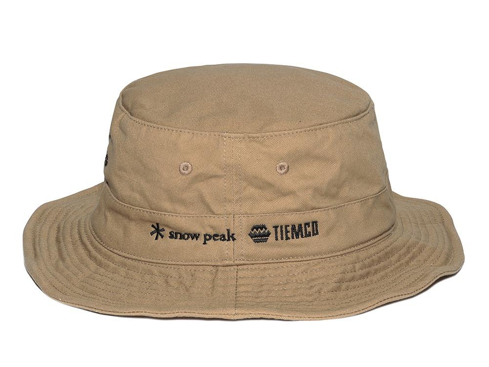 CAMPFISHING HAT カーキ フリー