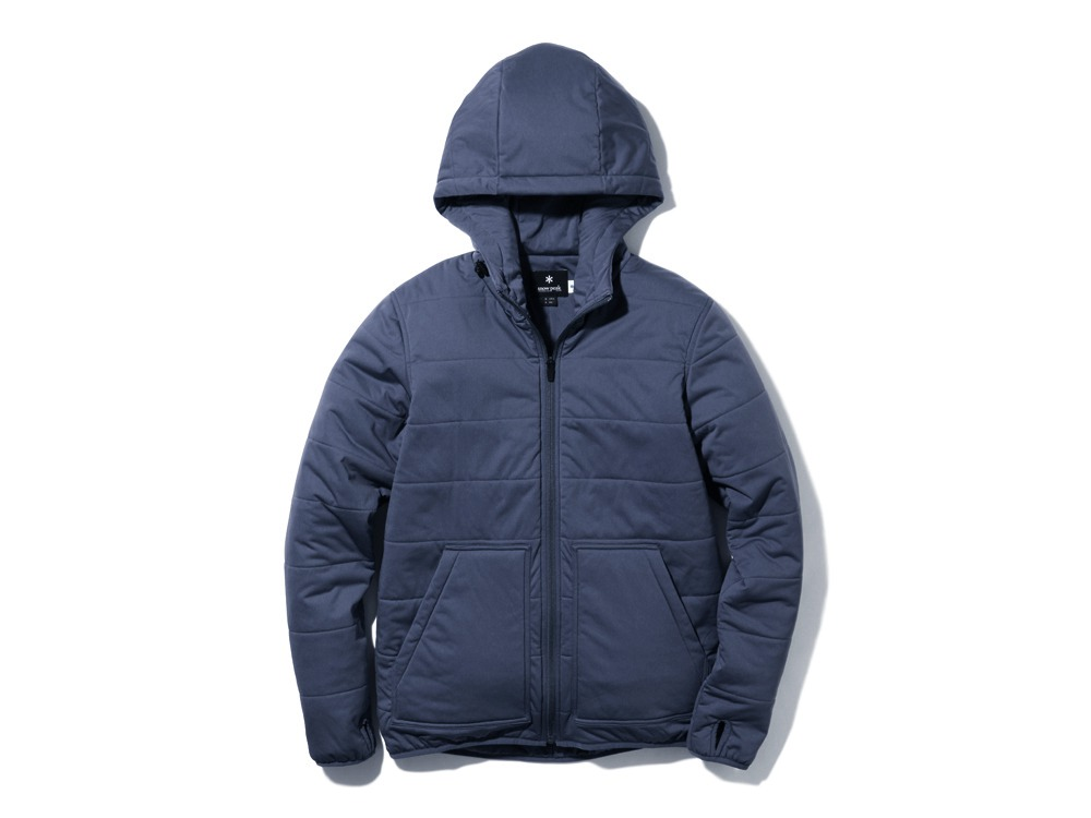 Flexible Insulated Hoodie1NAVY