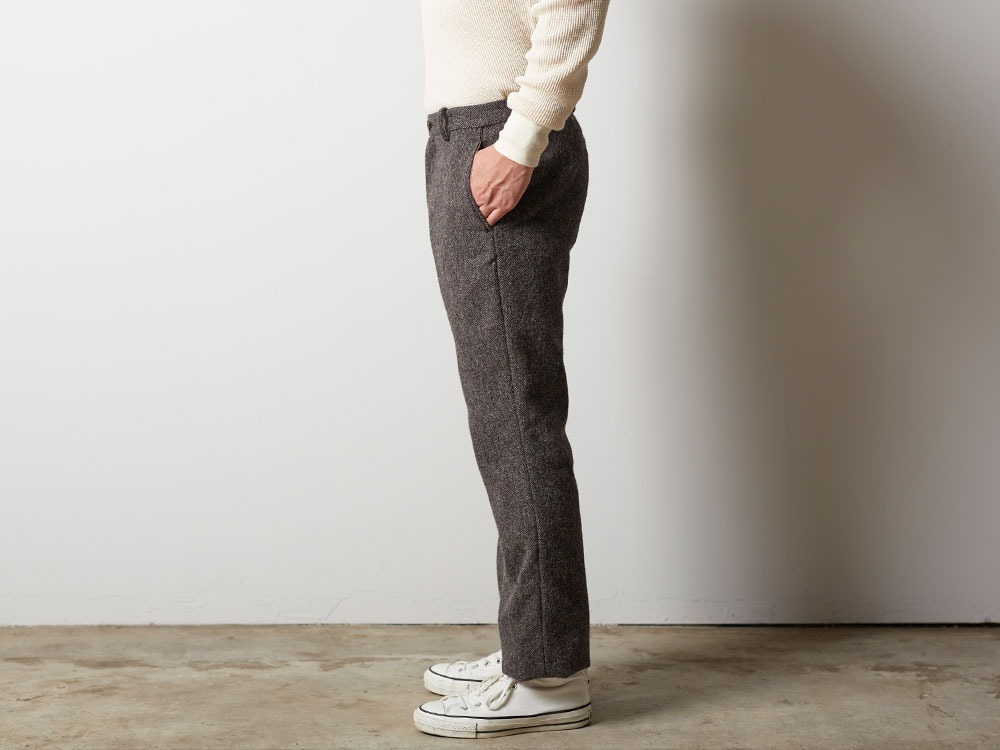 Camping Wool Pants M Brown3