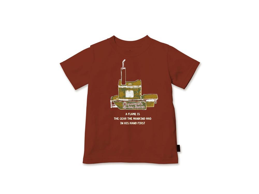 キッズ Auto Igniter Tシャツ 1 Orange