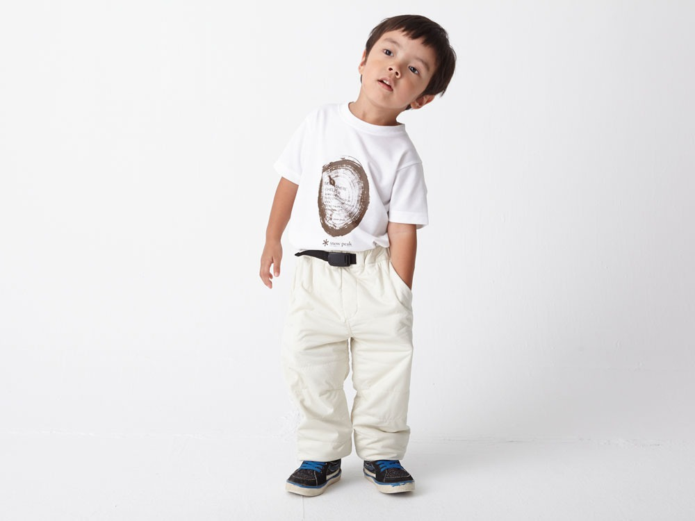 Kids Flexible Insulated Pants 4 White4
