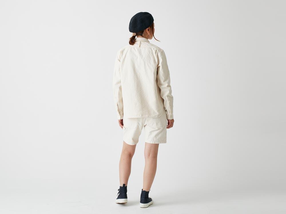 Okayama OX Shorts 2 Ecru4