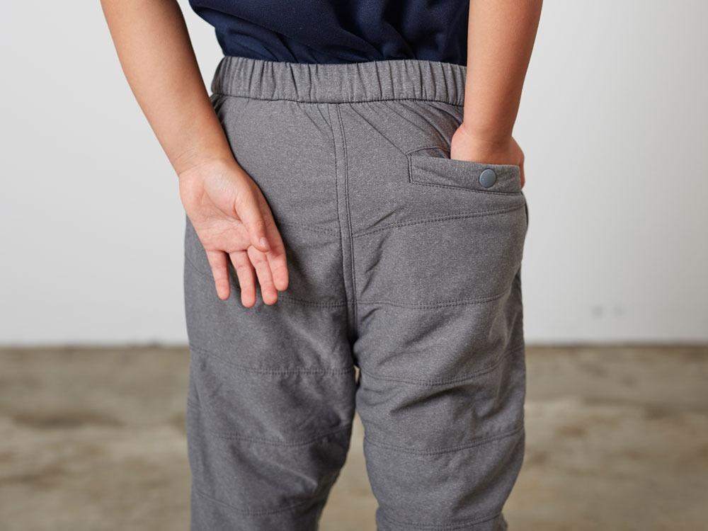 KidsFlexibleInsulatedPants 4 Black3