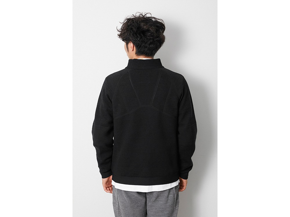 WG Stretch Knit Pullover 1 M.Grey