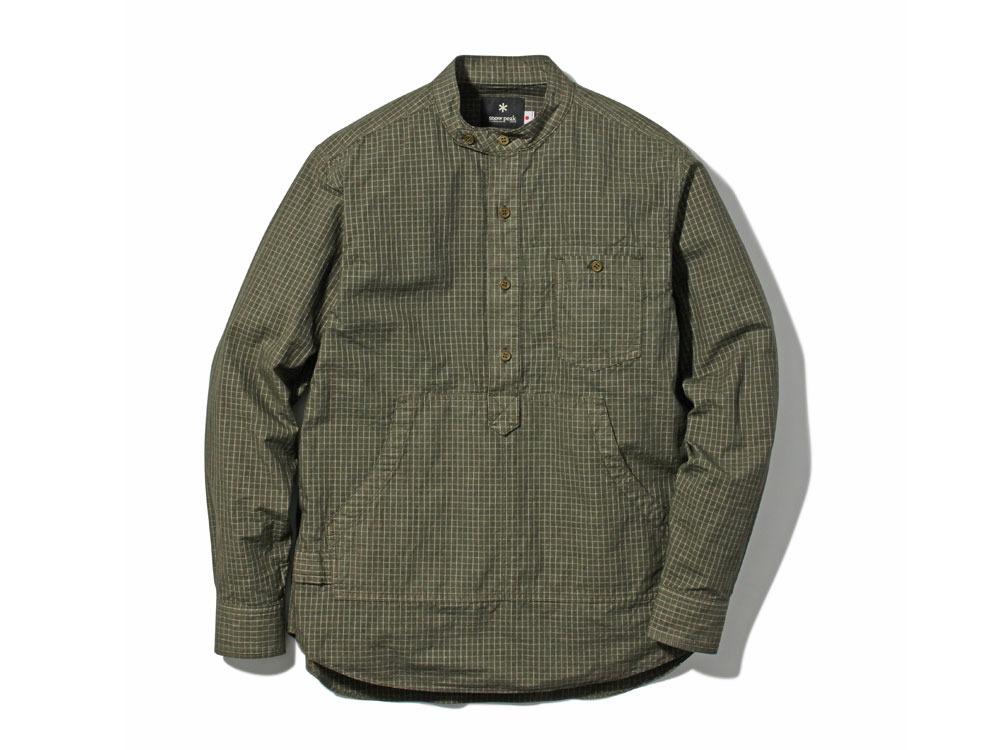 Organic Rip Stop Shirt 1 Olive0