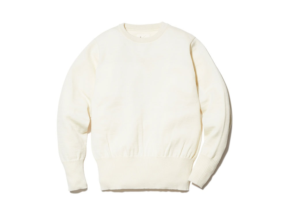 OG Wool Knit Pullover 2 Ecru