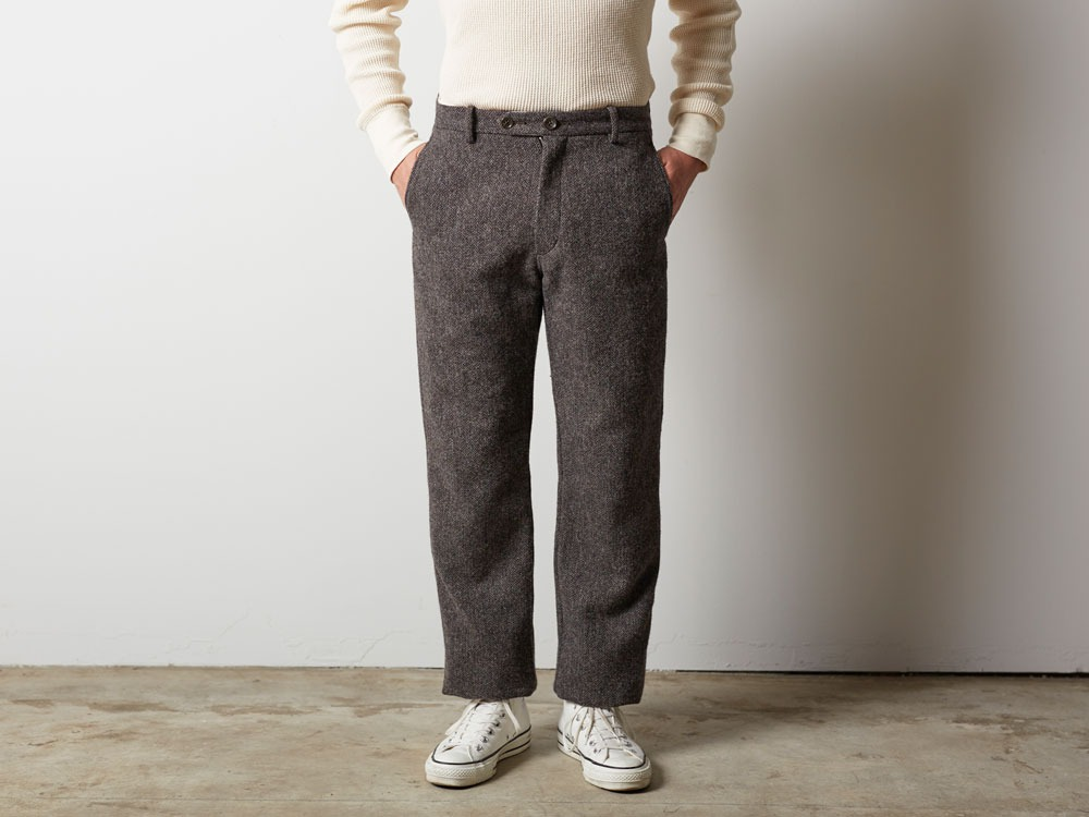 Camping Wool Pants M Brown2
