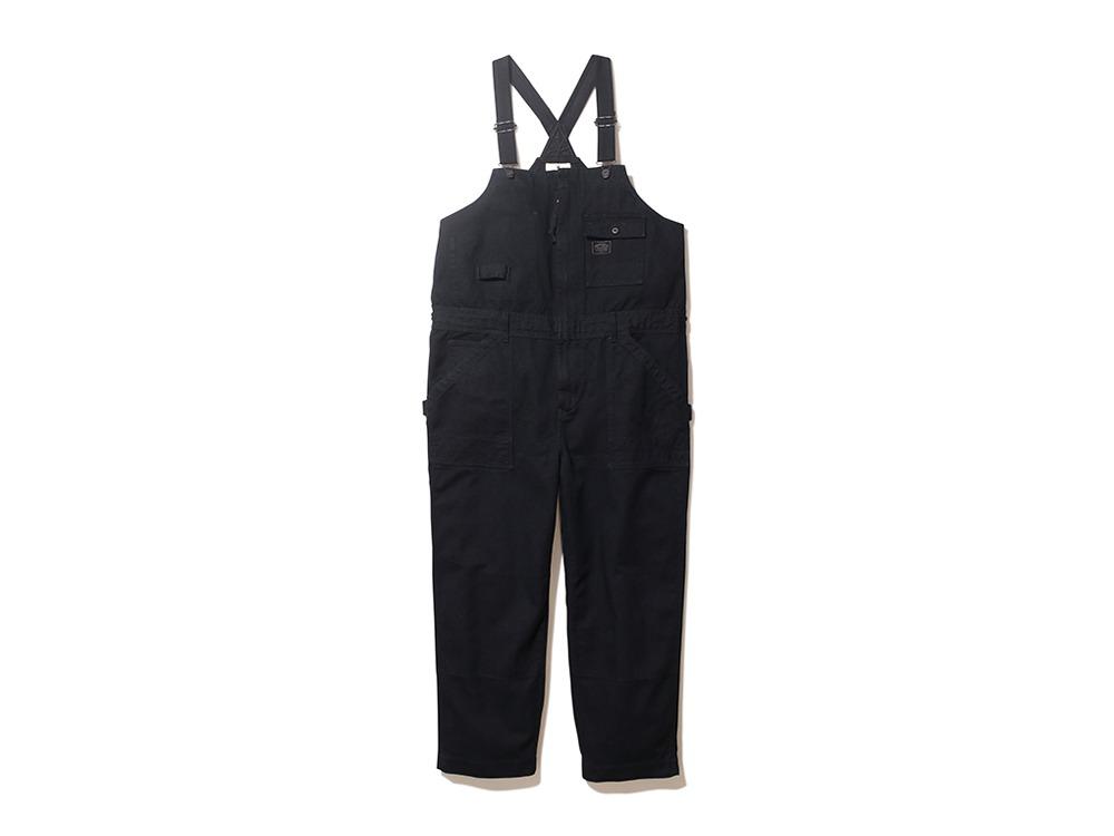 TAKIBI Denim Overall M Black
