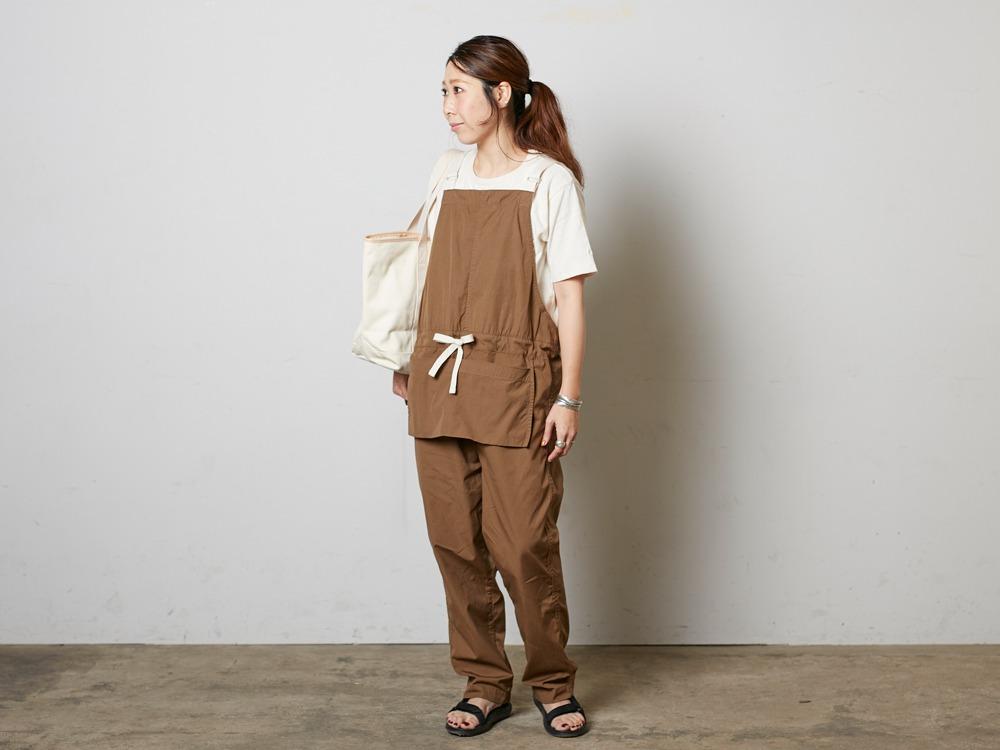 SailorClothAplonOveralls M Brown1
