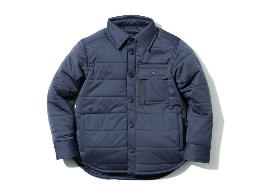 Kids Flexible Insulated Shirt1NAVY