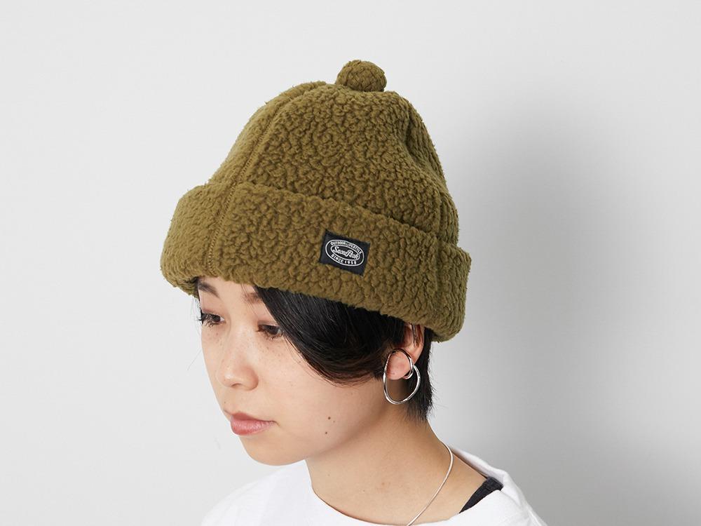 Thermal Boa Fleece cap One Olive