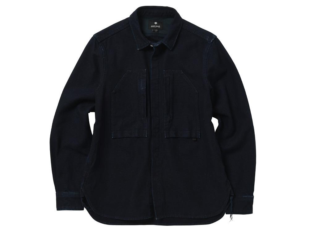 オカヤマオックスシャツ XL インディゴ