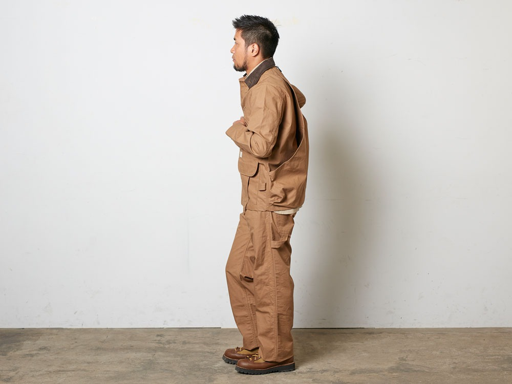 TAKIBICoverall XL Brown2