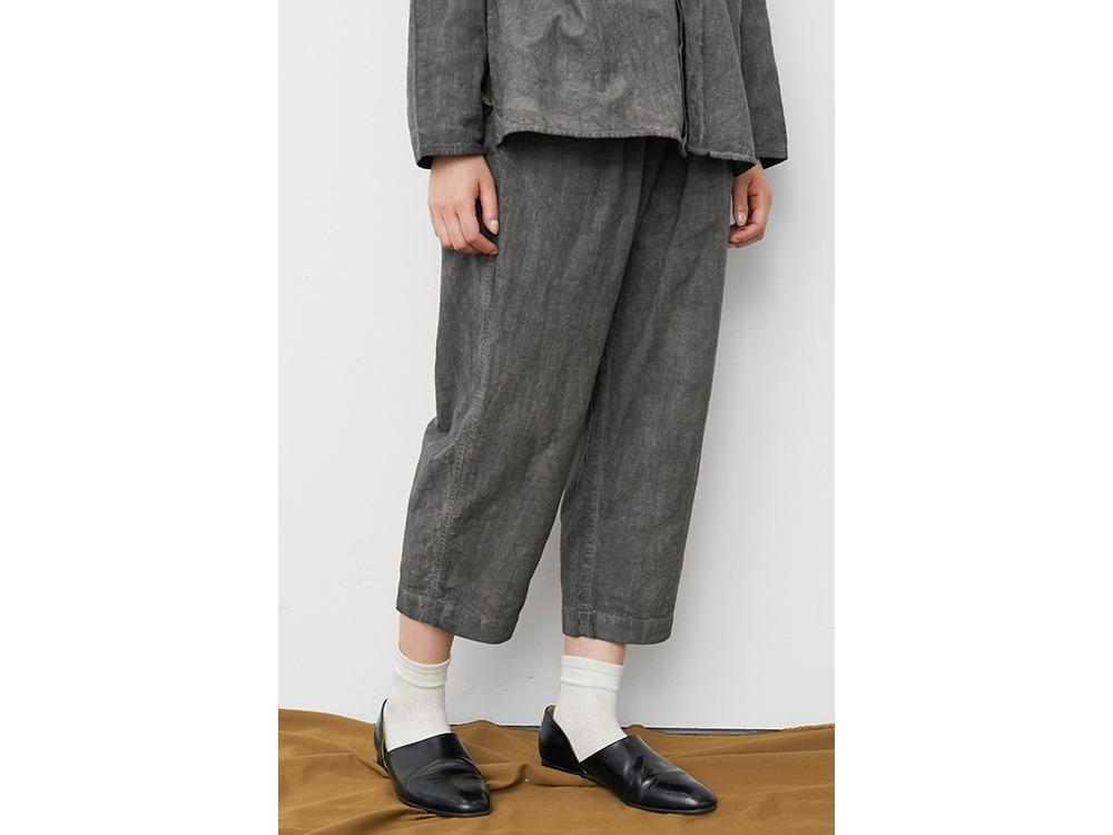 Hand-woven Cotton Pants 2 SUMI