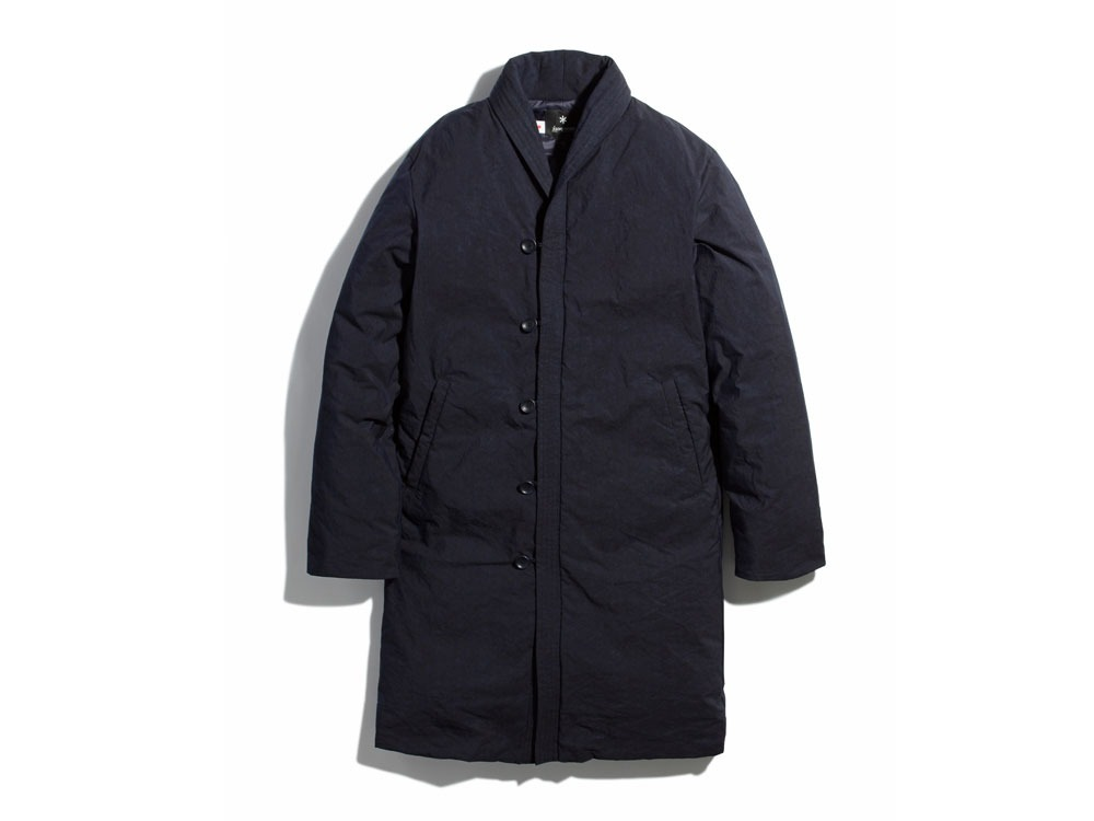 Indigo C/N Down Long Coat L Indigo0