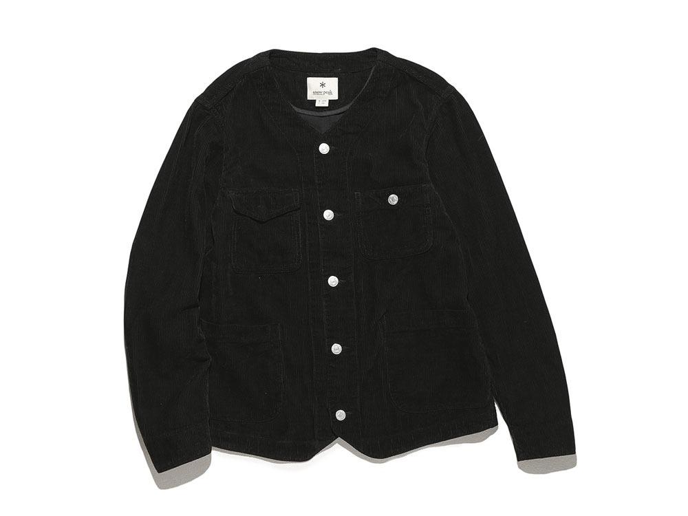 Linen Corduroy Jacket L Black0
