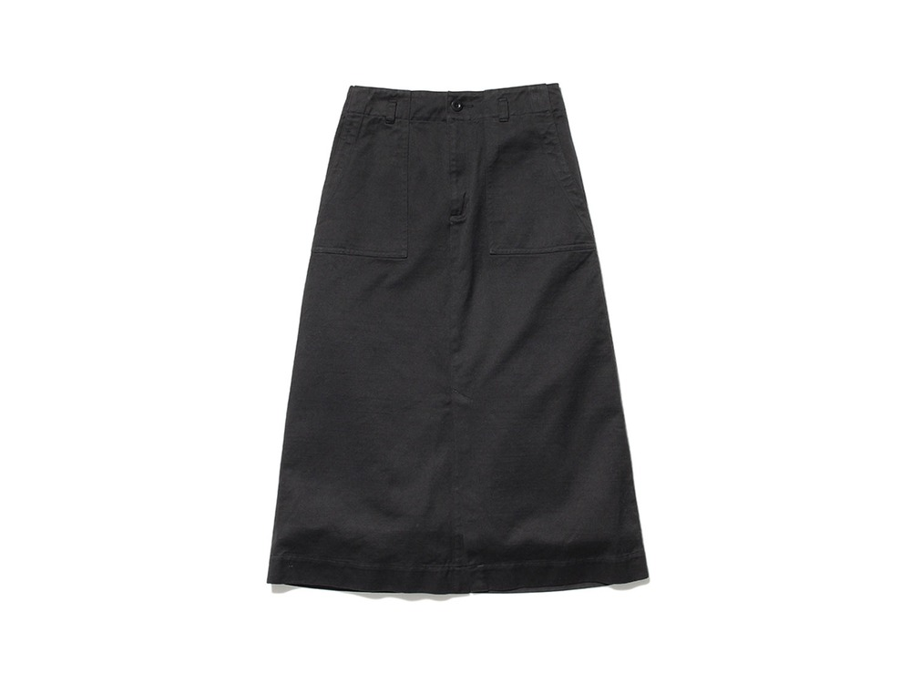 Ultimate Pima Drill Skirt 1 Black