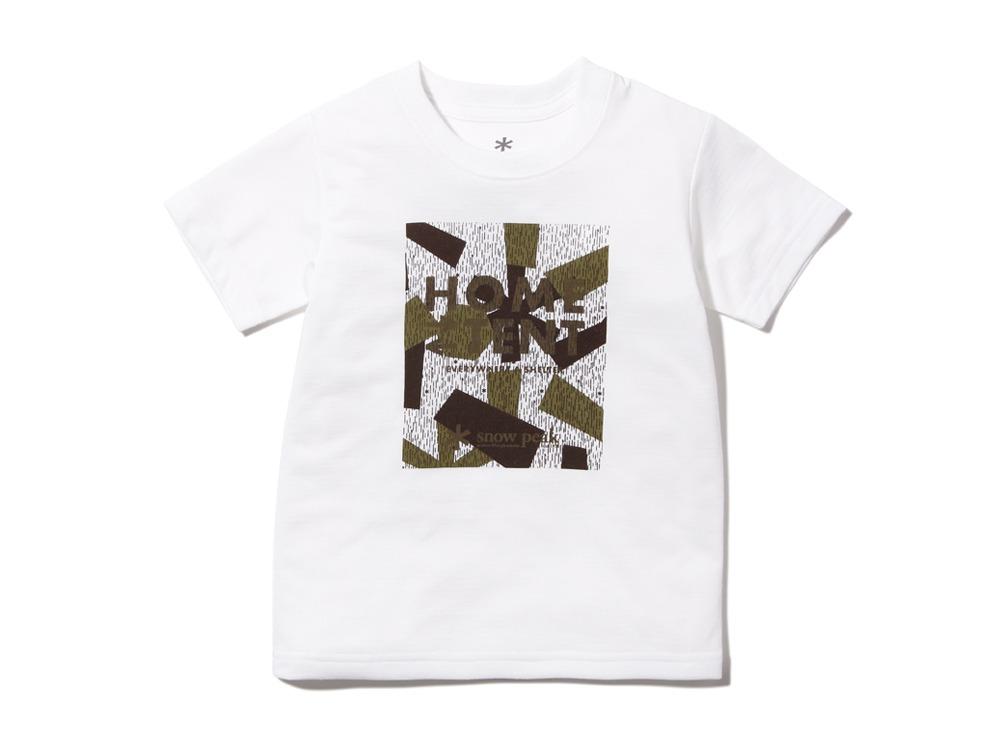 Kid's Rain CAMO Tshirt1White