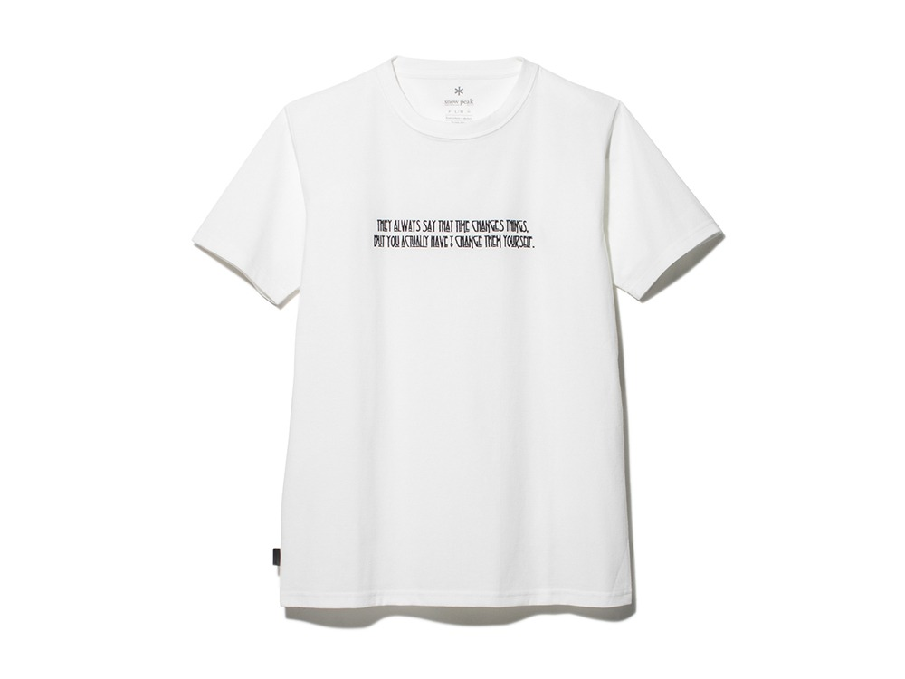 Typographical Tee #7 M White
