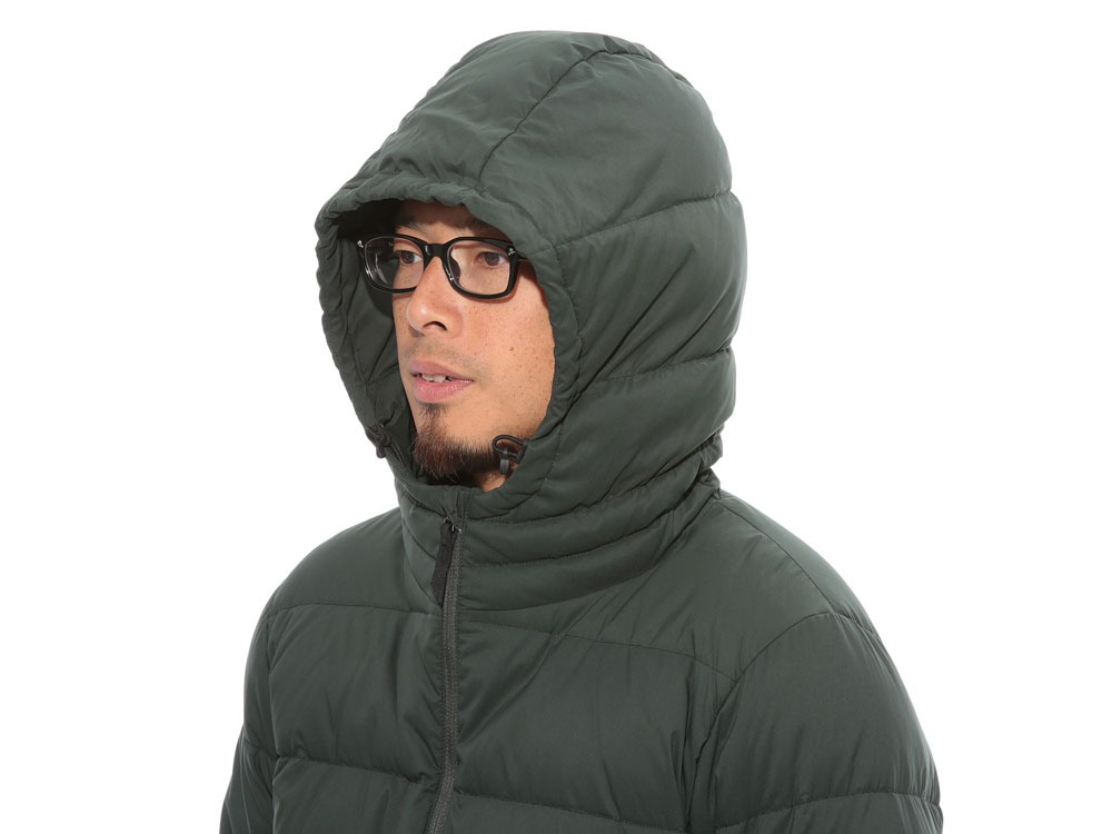 Pillow  Down Hoodie2 Green5