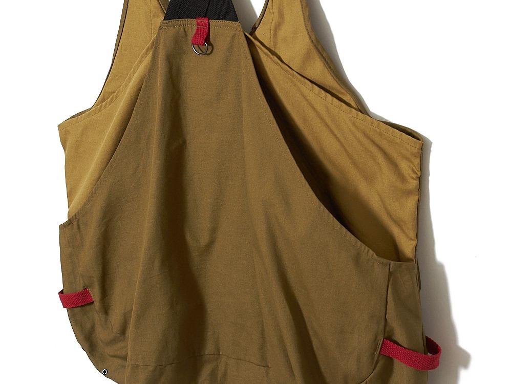 Field Fishing Vest S Brown