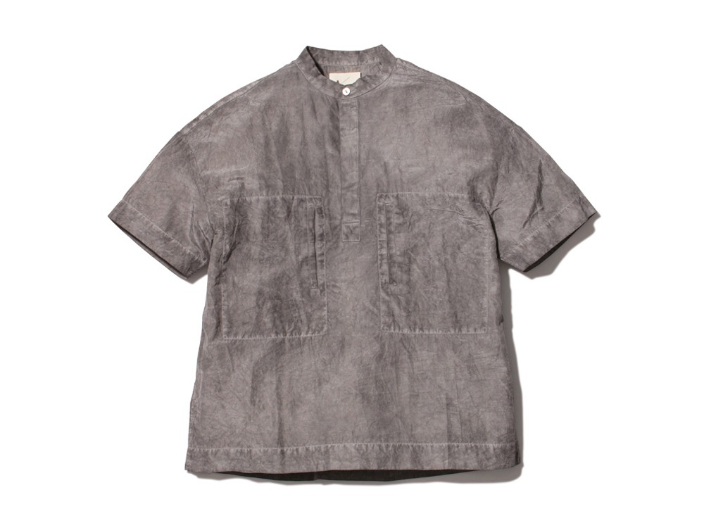 Hand-woven Cotton Silk Shirt 1 SUMI