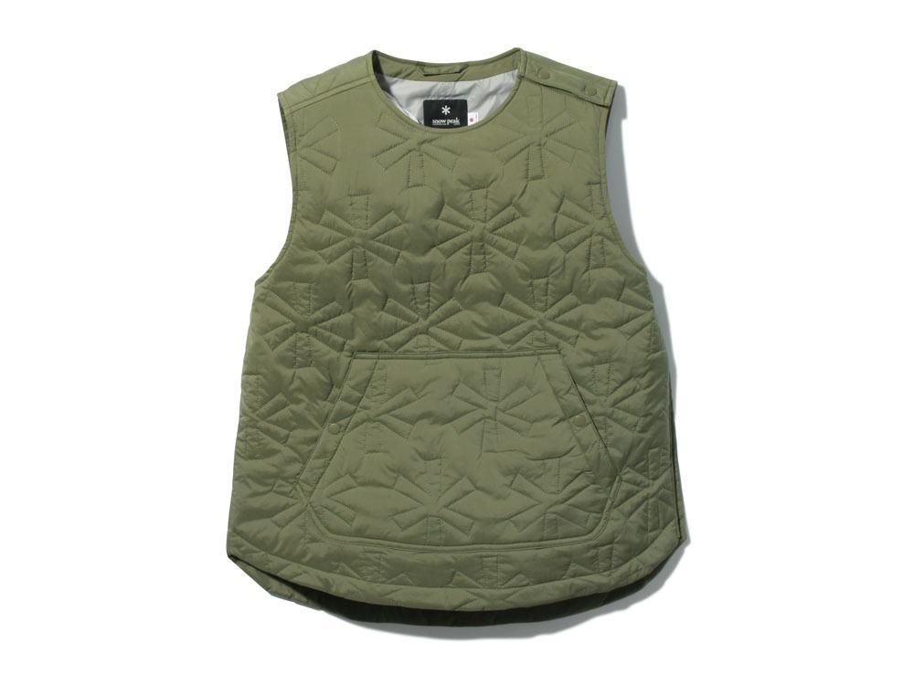 Quilting puff Vest 2 Olive0