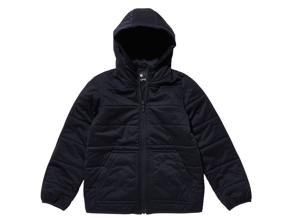 Kids Flexible Insulated Hoodie1Black