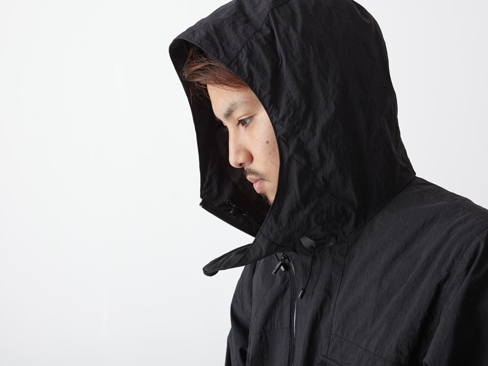 Indigo C/N Anorak Pullover 1 Black10