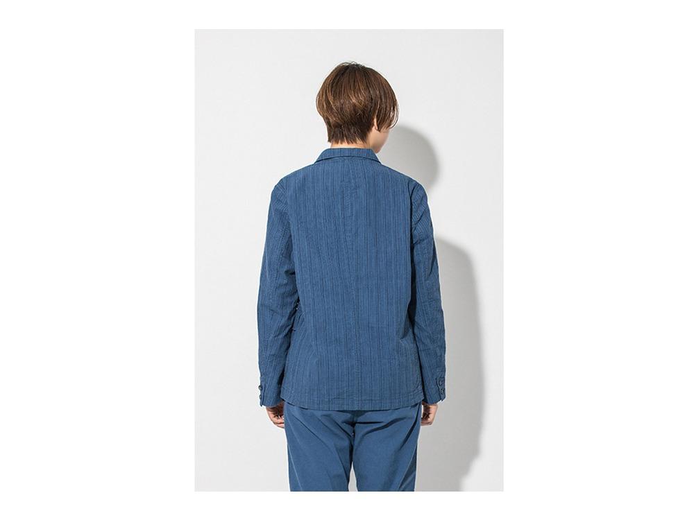 現代のワークジャケット  M Blue