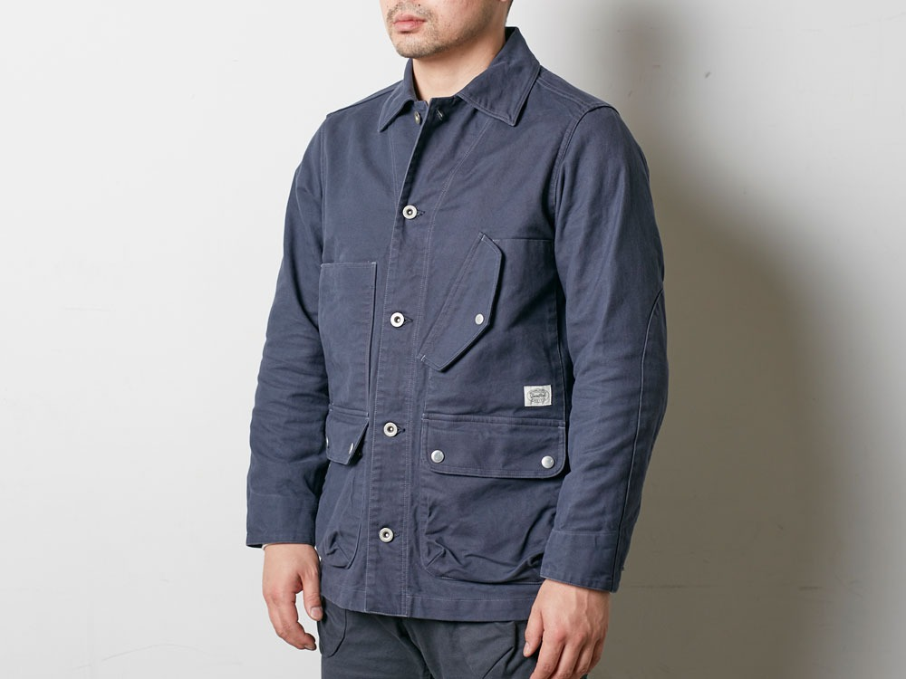 TAKIBI Coverall Jacket 2 Navy5