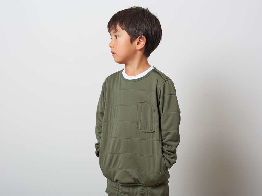 KidsFlexibleInsulatedPullover 3 M.Grey7