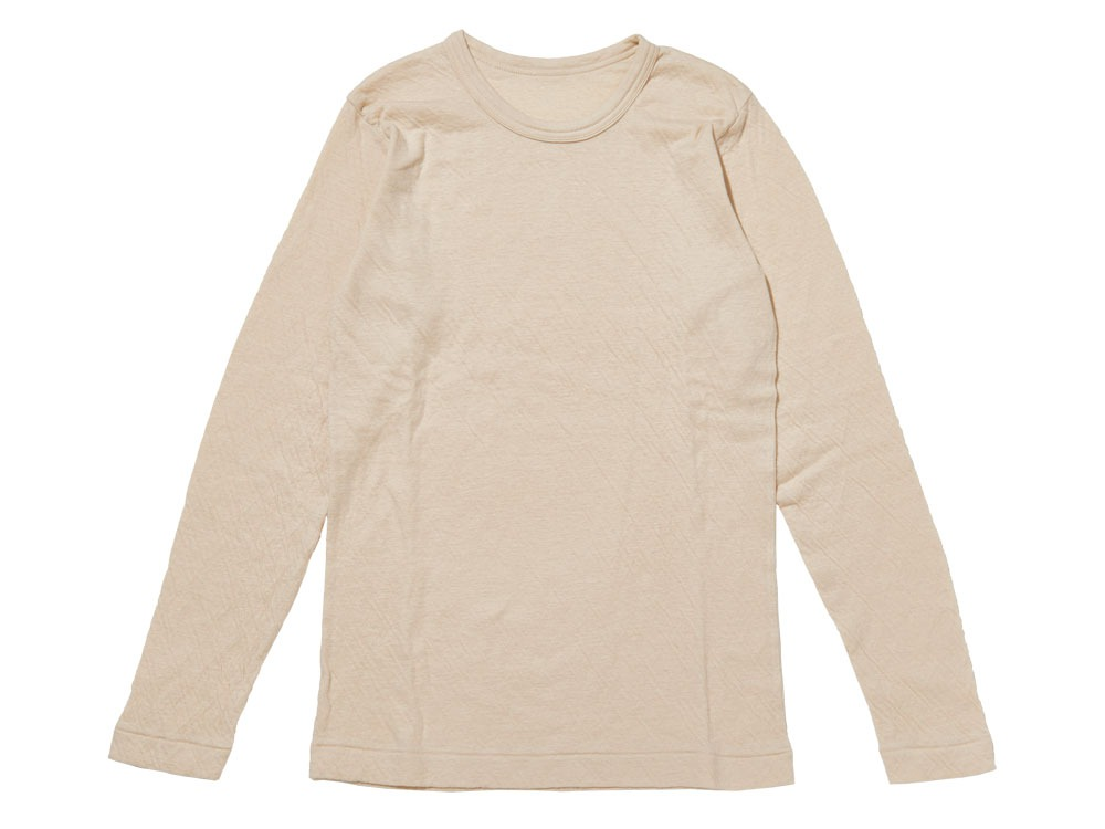 Ultimate Pima Double Knit Long Sleeve S Natural0
