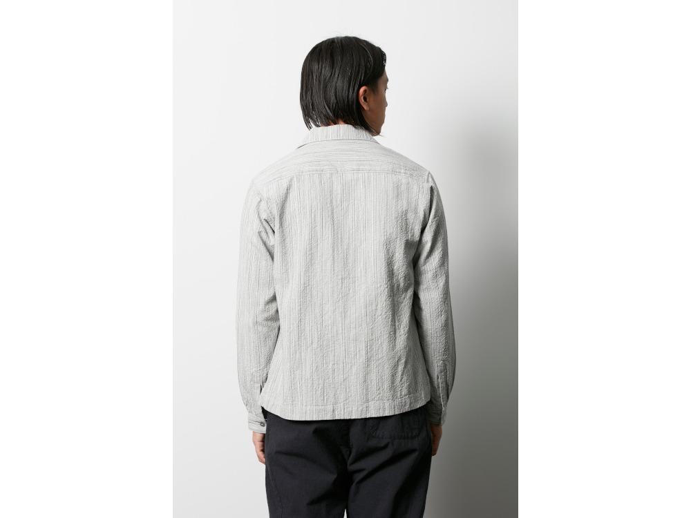 シジラ オープンカラーシャツ 1 エクリュ