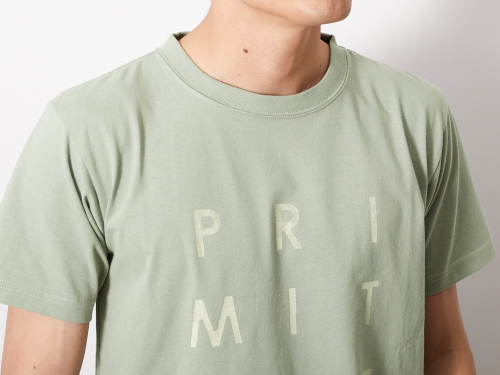 Primitive Survival Tee L Sage