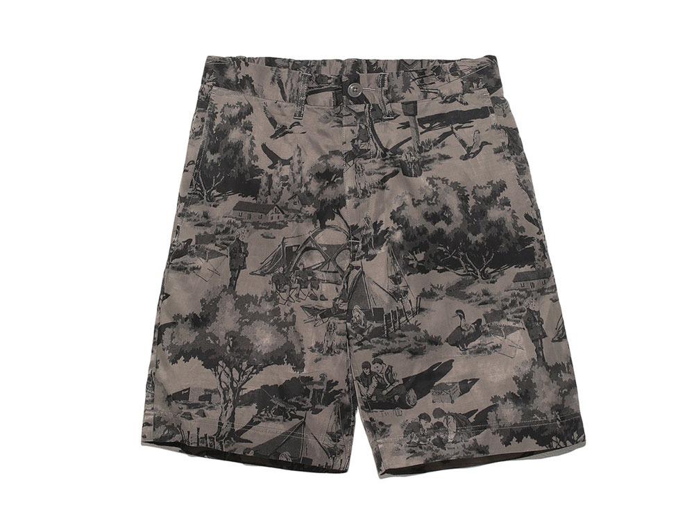 Camp Aloha Shorts XXL Olive0