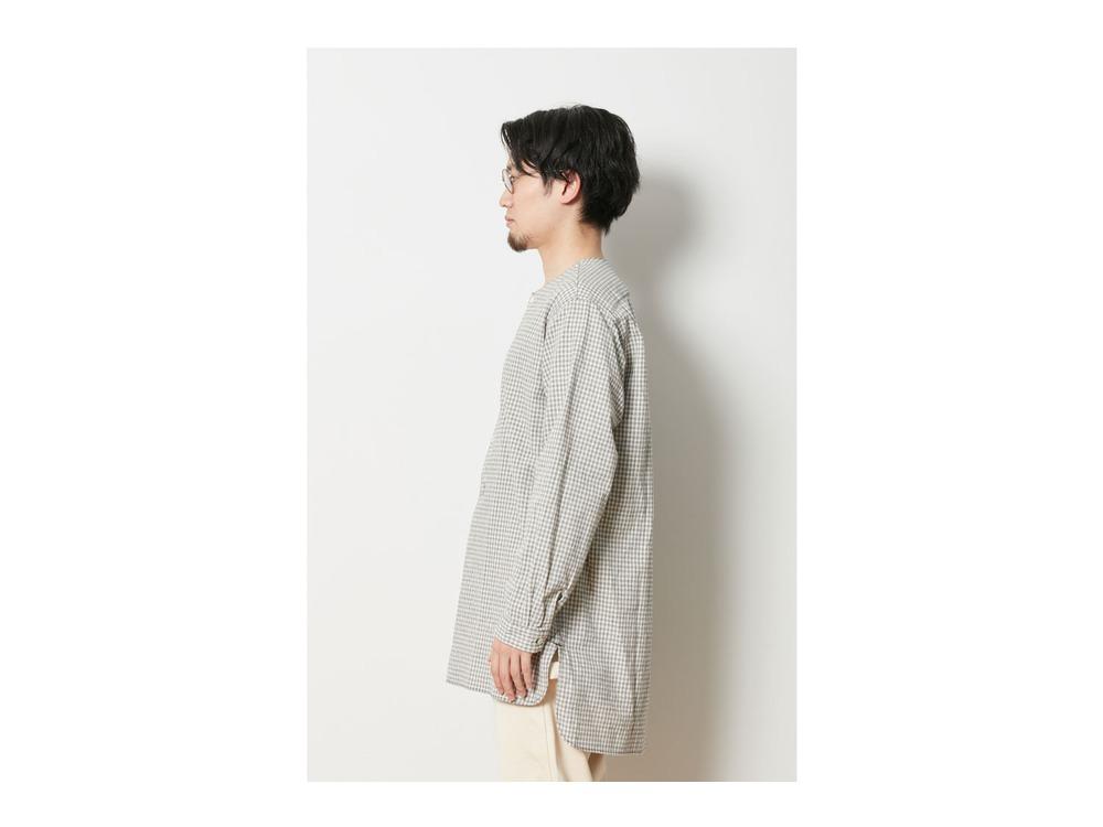 ナシジ スリーピングシャツ ギンガムチェック 1 BRBK